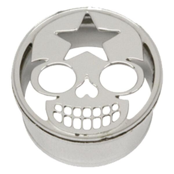 Steel Basicline® Impression Eyelet Starskull