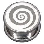 Steel Basicline® Impression Cannister White Spiral
