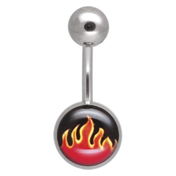 Titan Highline® Bigger Picturebells Red Flames