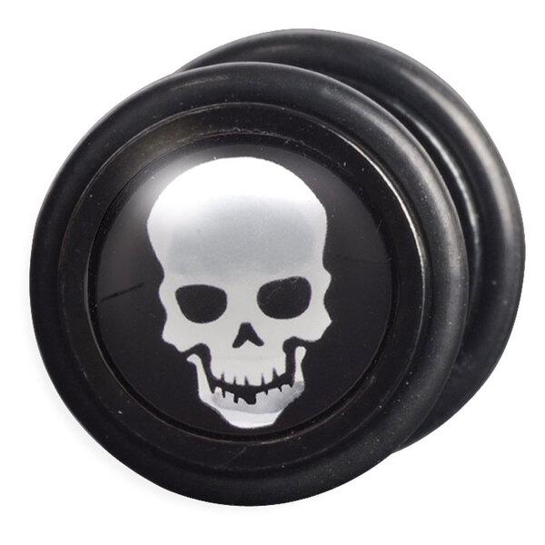 Steel Blackline® - Silver Skull