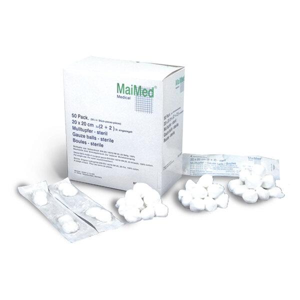 MaiMed - sterile Mulltupfer/ sterile swabs balls