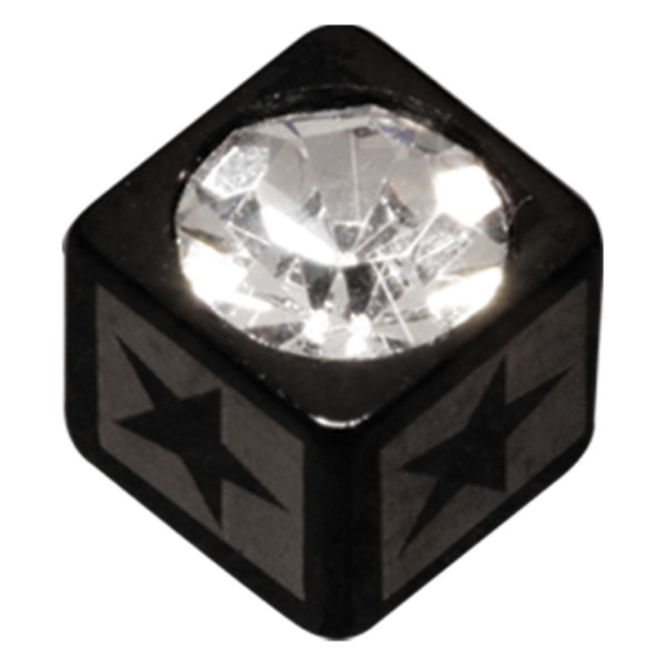 Jewelled Laser Cube Star