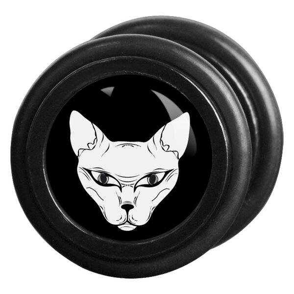 Mysterium® Naked Cat schwarz/weiß
