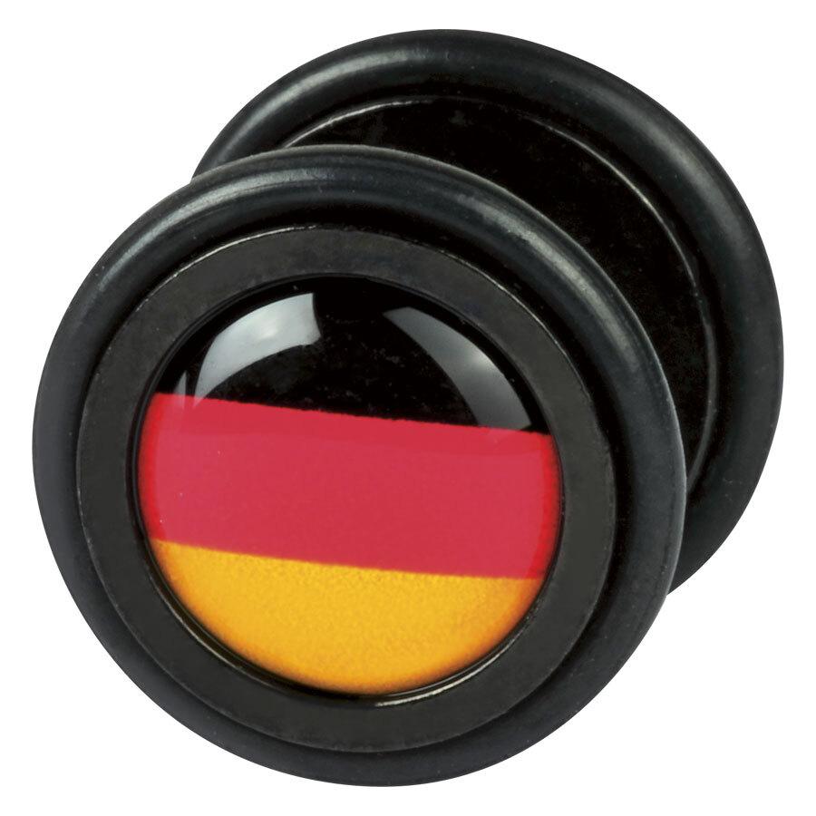 Steel Blackline® - schwarz-rot-gold