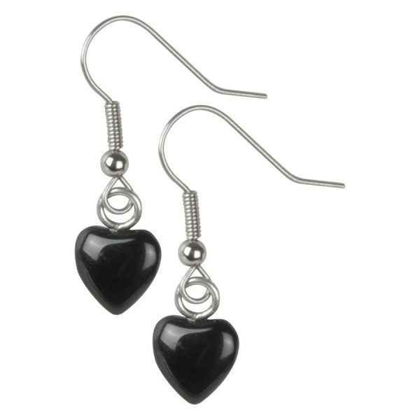Wildkitten® - Black Heart Earrings