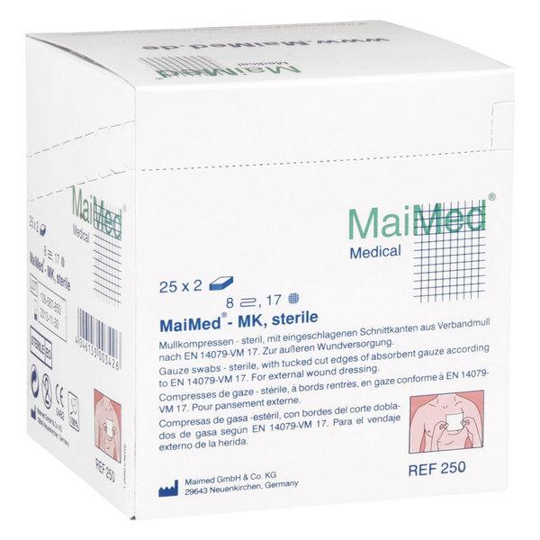 MaiMed - 7,5 x 7,5 cm, 8fach, sterile