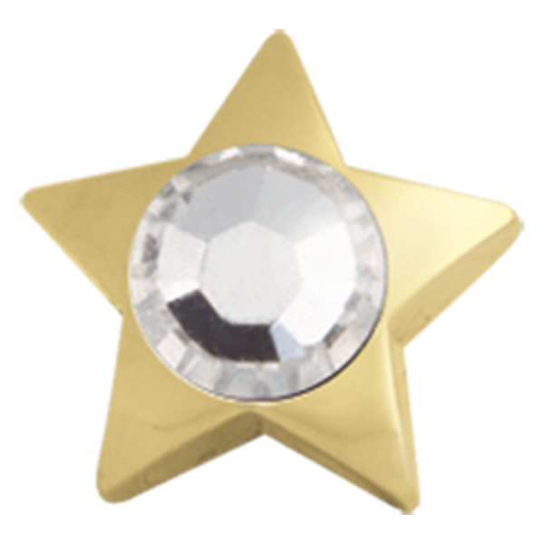 Jewelled Star for Internally Threaded