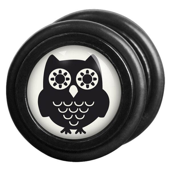 Steel Blackline® - Black Owl