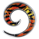 Steel Basicline® Wildlife Spiral Wildcat