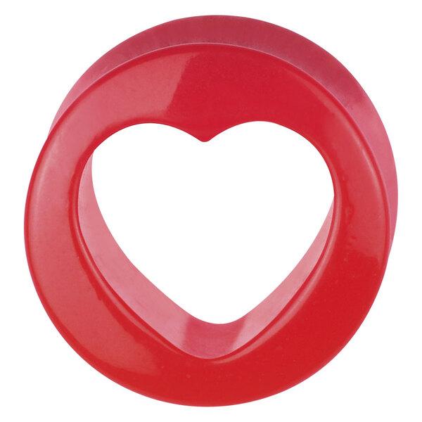 Acrylic Cutout Heart Plug