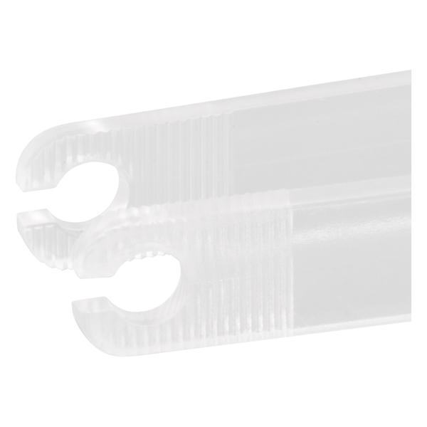 transparente runde sterile Einweg-Pinzet
