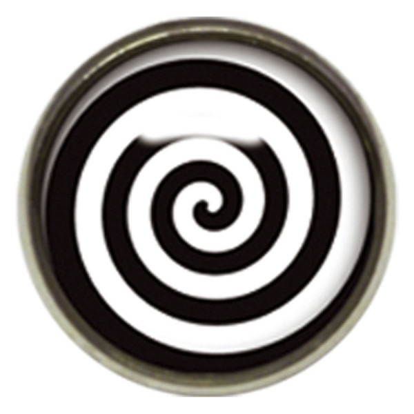 Titan Highline® Internally Threaded Ikon Disc Black/White Spiral
