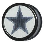PMMA Video Plug 05 Black Star