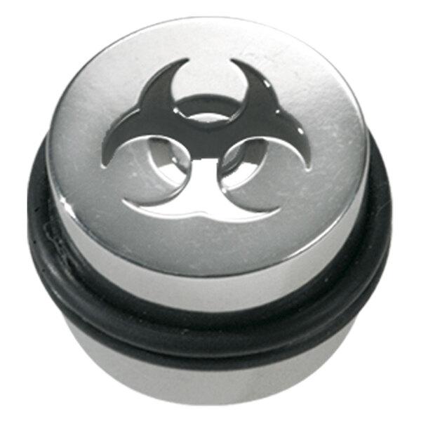 Titan Highline® Laser Cut Canister Plug Biohazard