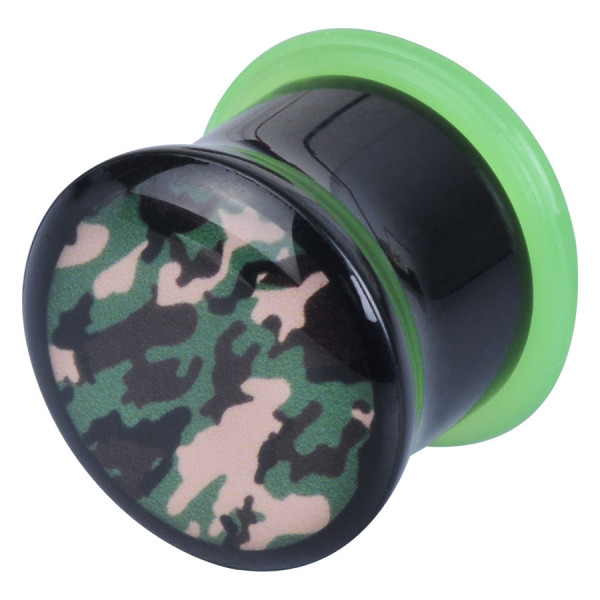 Acrylic New Logo Plug Camouflage