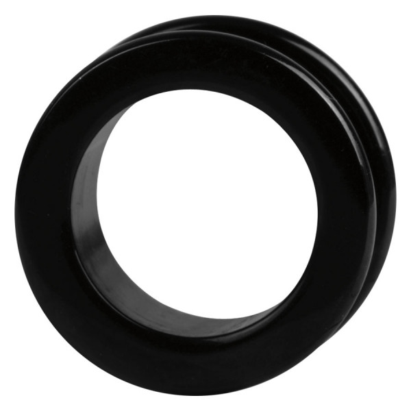 Steel Blackline® Flesh Tunnel Round Edges