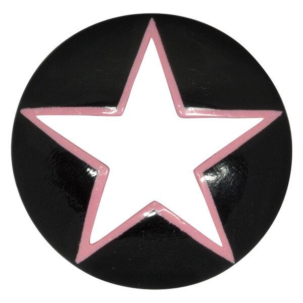 Buffalo Horn Nebula Open Pink Star Plug