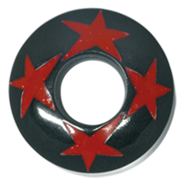 Buffalo Horn Red Stars Plug