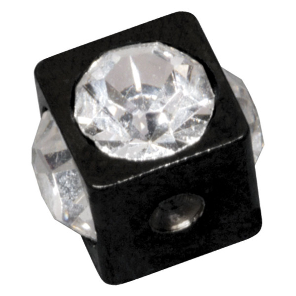 Jewelled Clip in Cube