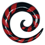 Buffalo Horn Red Zebra Sprial
