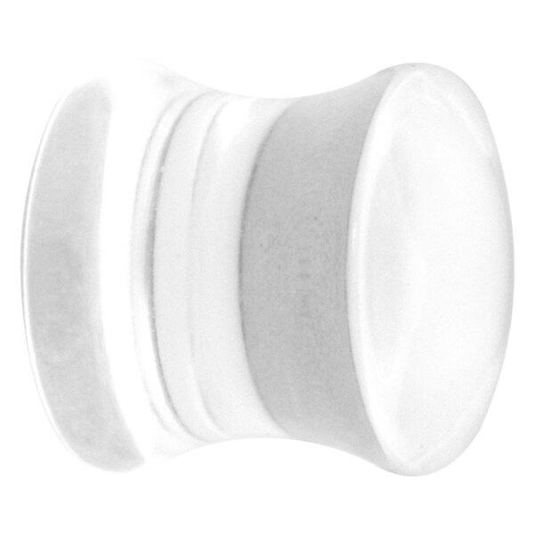 Clear Acryl Flared Plug