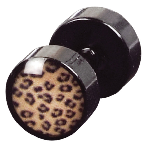 Leopard Mini Fake Plug