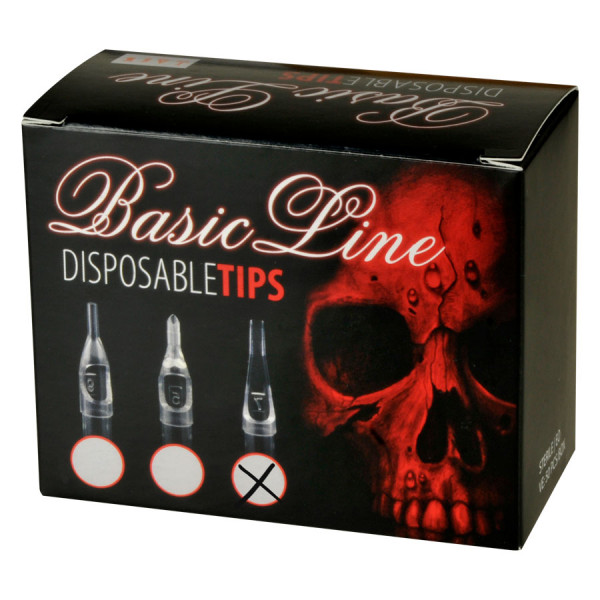 Basic Line - Disposable Clear Short Tip Flat