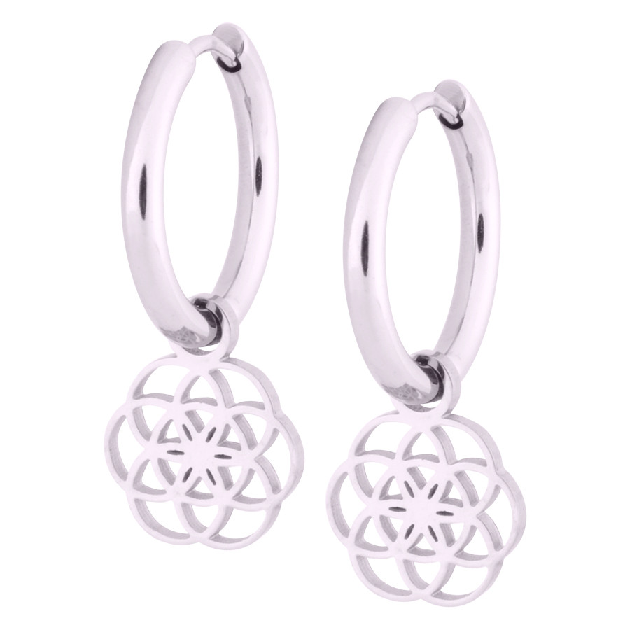Little Flower of Life Hoops