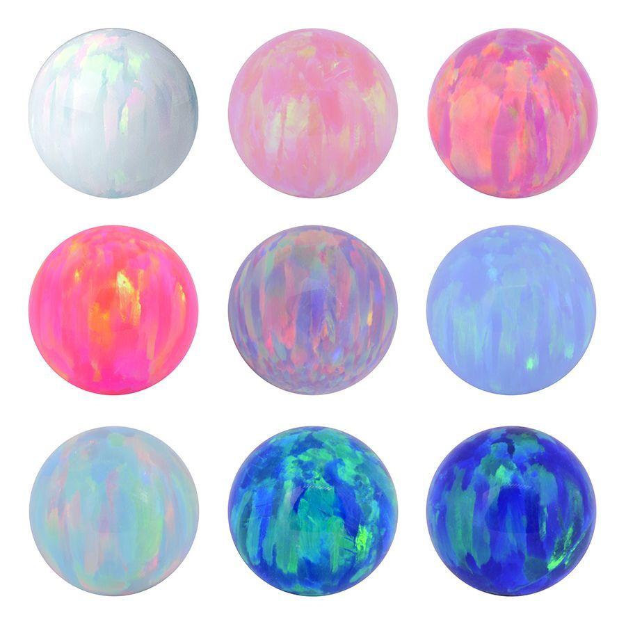 Synthetic Opal Balls