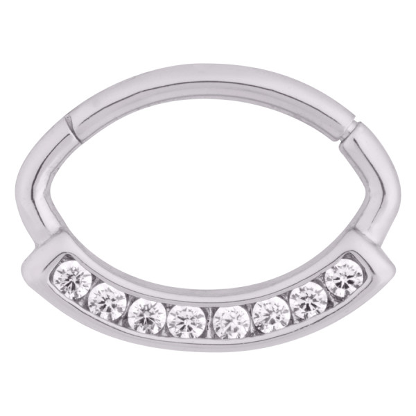 Channel Hinged Ring
