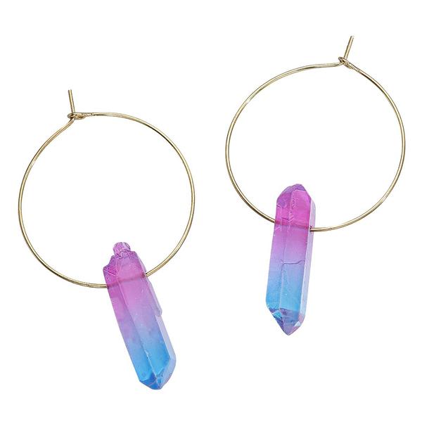 Colour Crystal Earrings