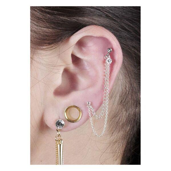 Jewelled Ear Chain