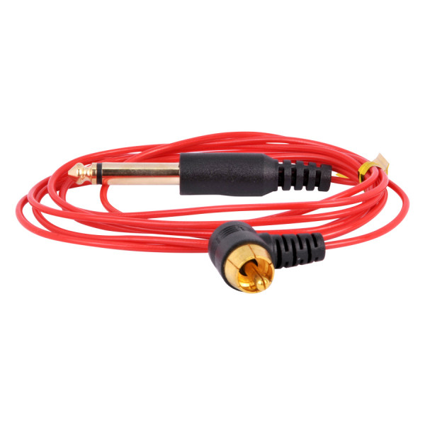 Ultra Thin RCA Cord Red