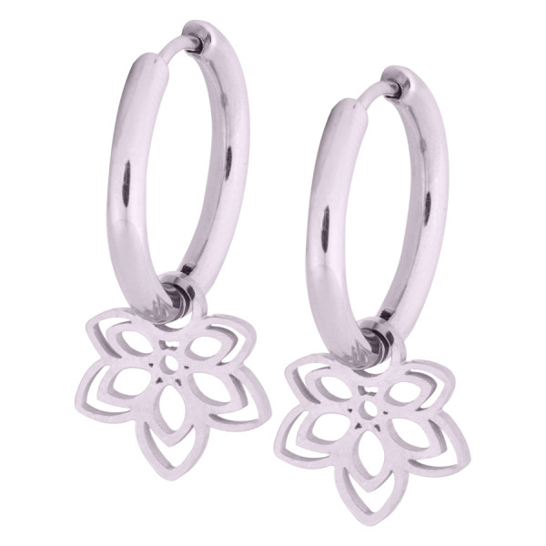 Little Flower Hoops