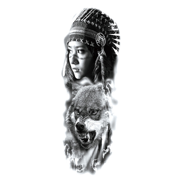 Wolves Child Tattoos