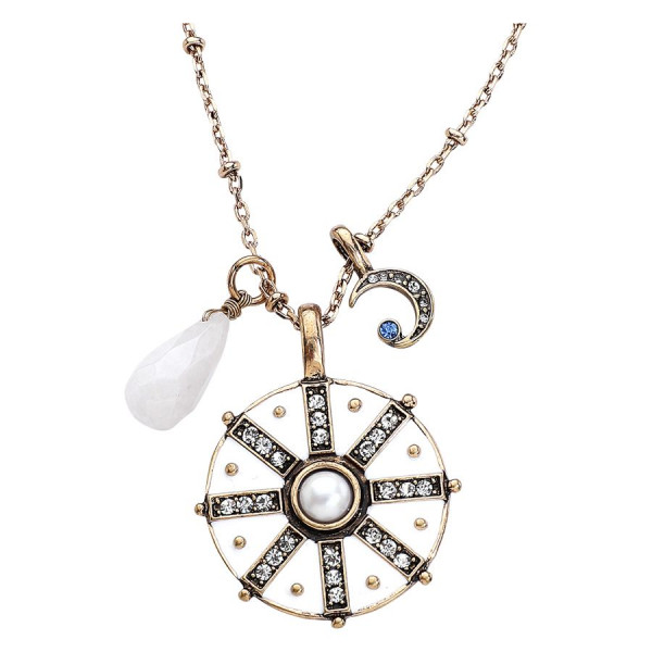 Sun and Moon Pastel Necklace