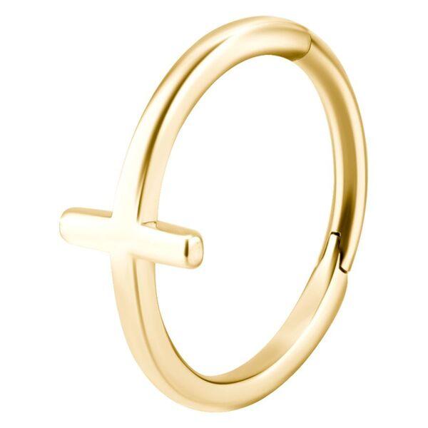 Hinged Cross Ring