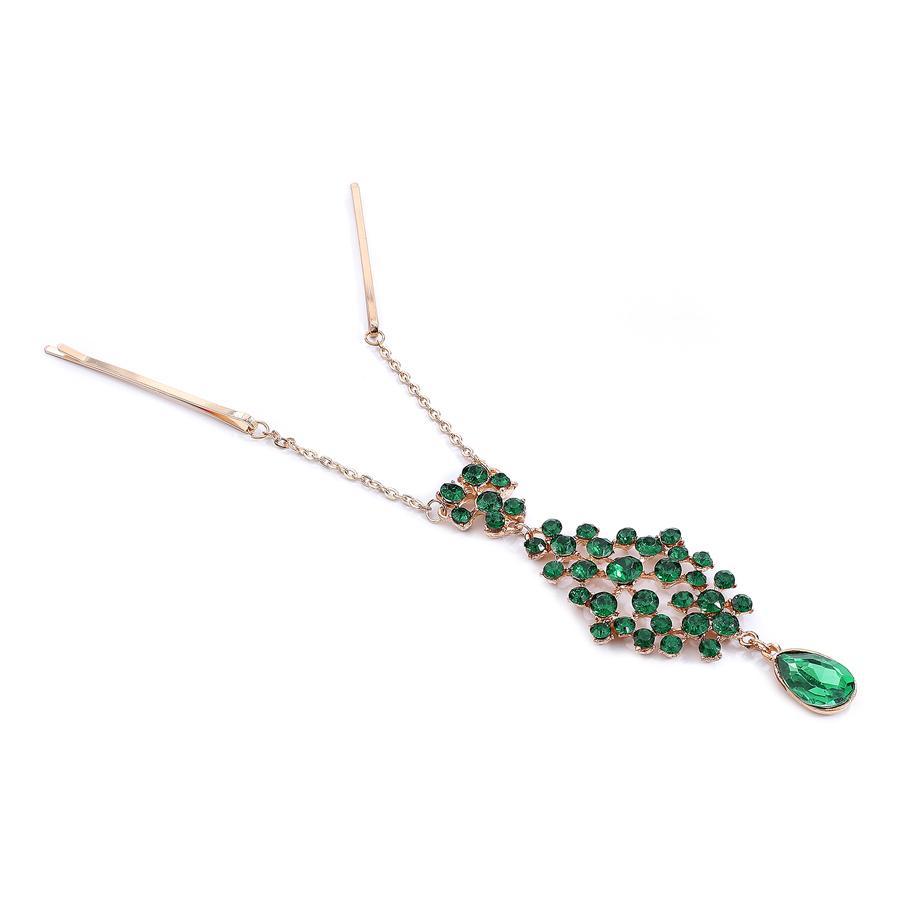 Smaragdgreen Hairclip