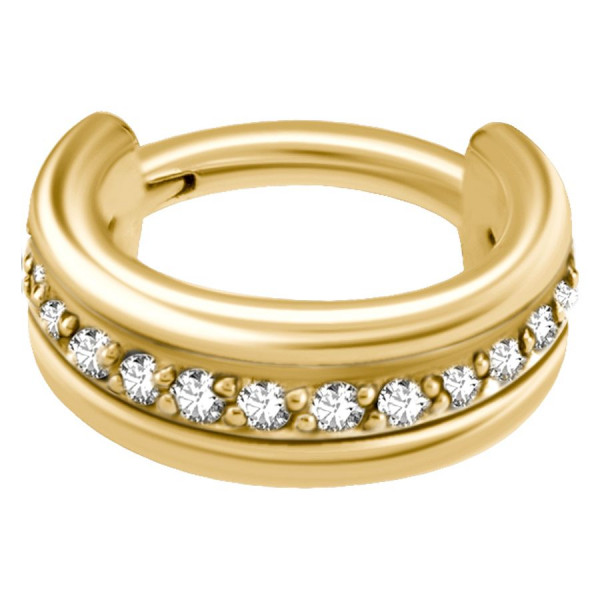 Jewelled  Hinged Clicker