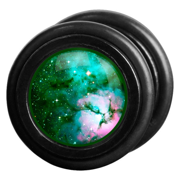 Green Galaxy Fakeplug