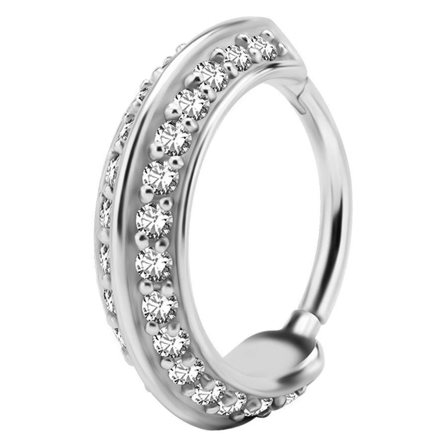 Jewelled Cross Ring