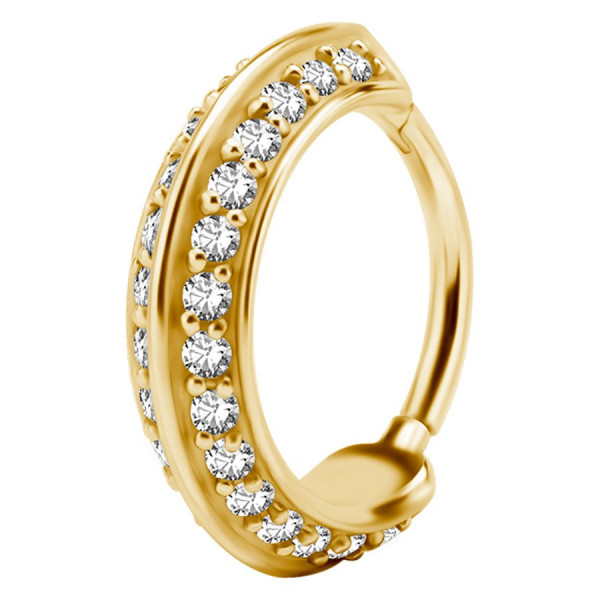 Double Jewelled Ring