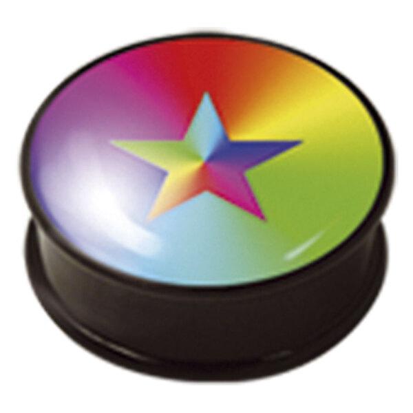 PMMA Ikon Earplug 114 Rainbow Star