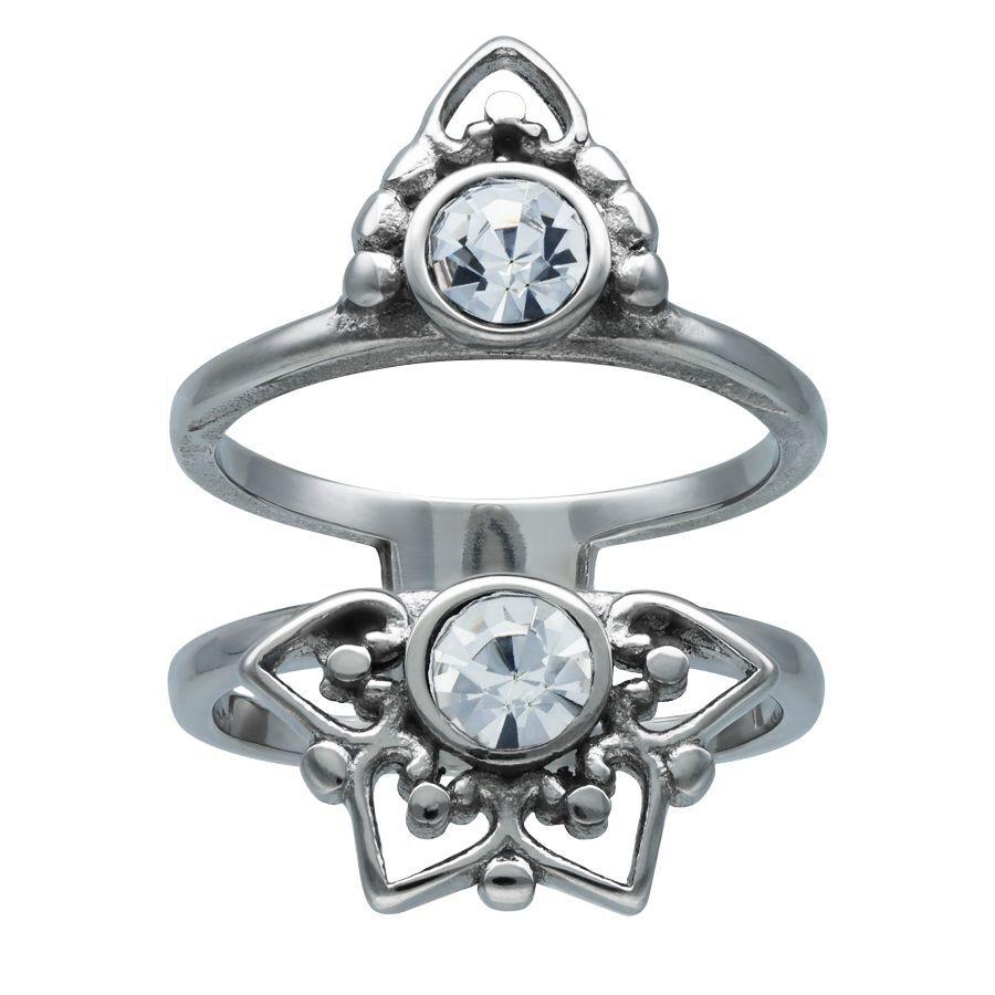 Silver Sun Tides Ring