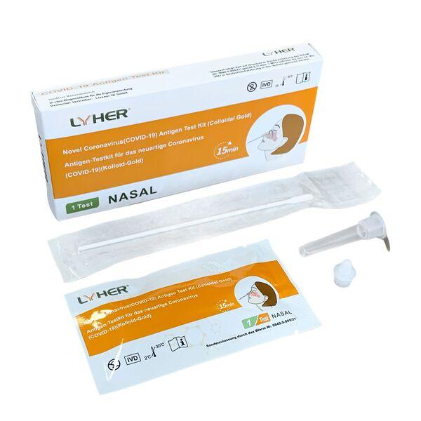LYHER® Covid-19 Antigen Schnelltest (Selbsttest)