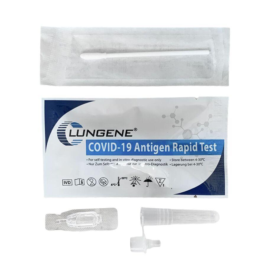 Clungene® Covid-19 Antigen Rapid Test (Selbsttest) VE5 Laientest