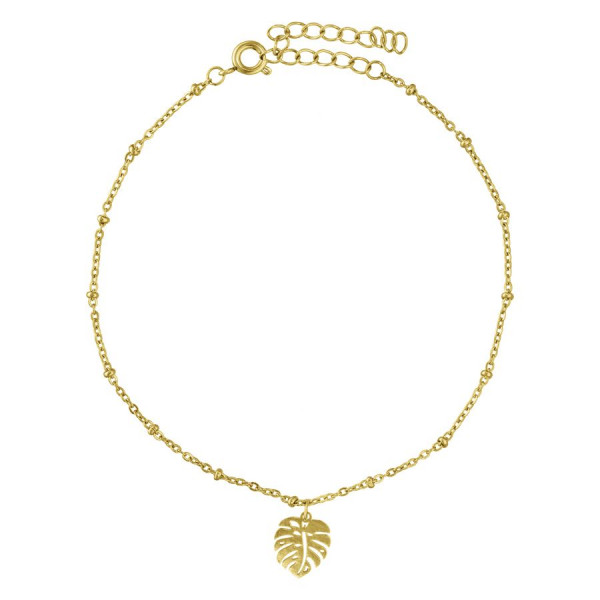 Monstera Ankle Chain