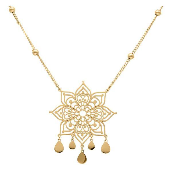Golden Mandala Necklace