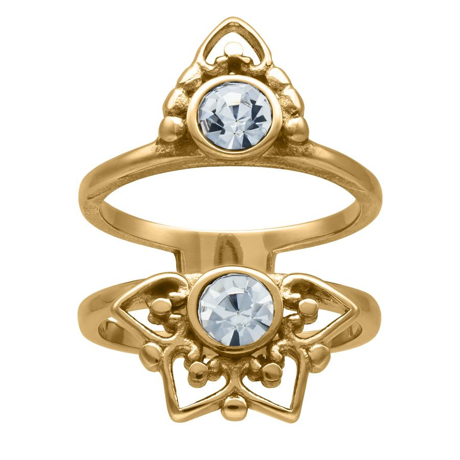 Gold Sun Tides Ring