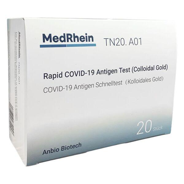 Anbio Covid-19 Antigen Rapid Test VE20